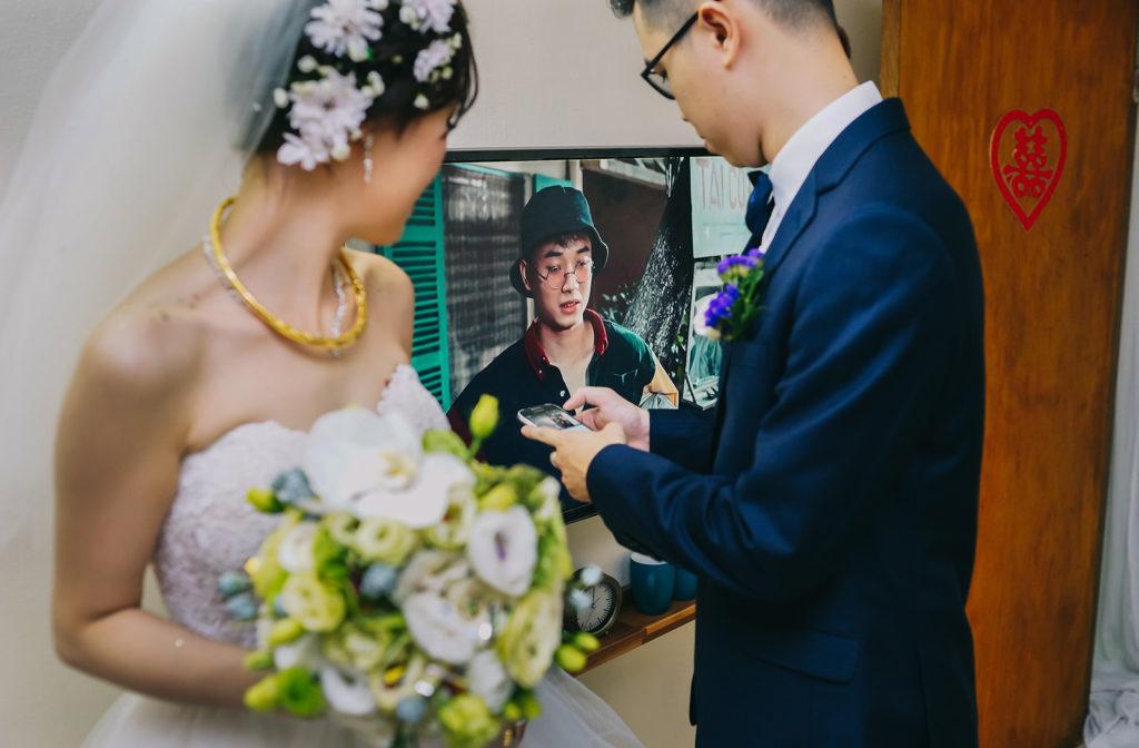 Wedding day in Hanoi – Huy & Vi 's wedding