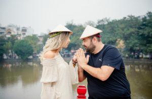 Wedding Anniversary in Hanoi